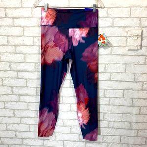 Joy lab floral hi-rise leggings size Medium